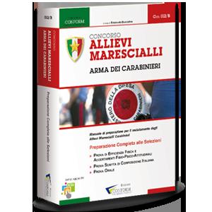 Libro Concorso Allievi Marescialli Carabinieri TPA Tema Prova Orale