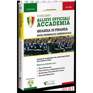 Libro Concorso Allievi Ufficiali Accademia Guardia di Finanza Prova Preliminare Tema TPA