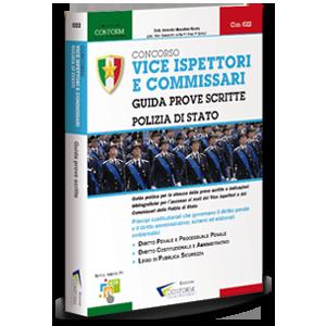Libro Concorso Vice Ispettori e Commissari - Guida Prove Scritte Polizia di Stato Tema di diritto