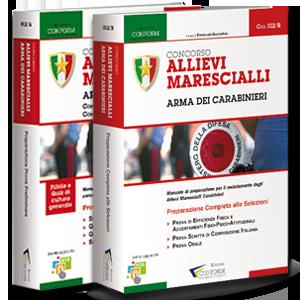 Kit Libri Concorso Allievi Marescialli Arma dei Carabinieri