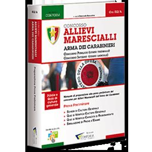 Libro Concorso Allievi Marescialli Carabinieri Prova Preliminare