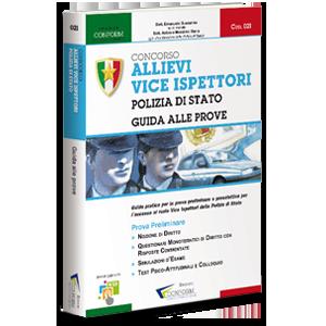 Libro Concorso Allievi Vice Ispettori Polizia di Stato - Guida alle Prove Prova Preliminare TPA