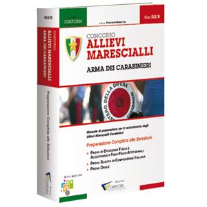 Libro Concorso Marescialli Carabinieri 2018