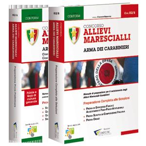 Libri Concorso Marescialli Carabinieri 2018