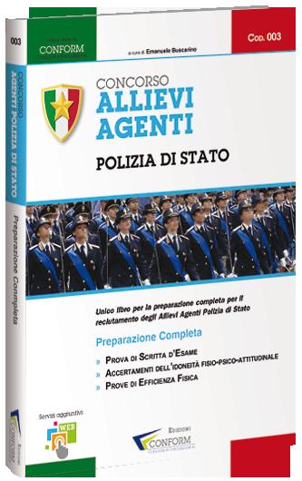 Libro per Allievi Agenti Polizia di Stato - Conform