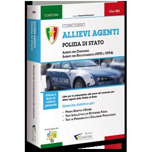 Libro Concorso Allievi Agenti Polizia di Stato
