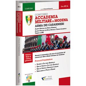Ebook Concorso Accademia Militare di Modena Arma dei Carabinieri