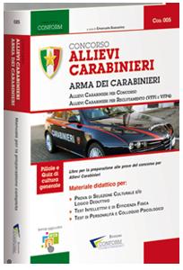 Libro Concorso Allievi Carabinieri