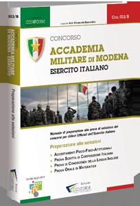 Libro Concorso Accademia Militare di Modena Esercito Italiano (Prove di Selezione)