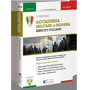 Ebook Concorso Accademia Militare di Modena Esercito Italiano