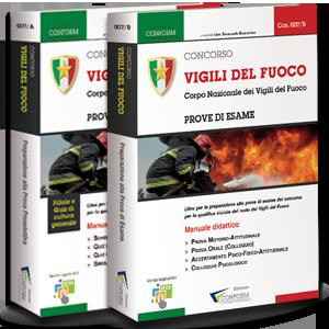 Kit Libri Concorso Vigili del Fuoco