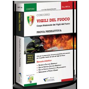 Libro Concorso Vigili del Fuoco Prova Preselettiva