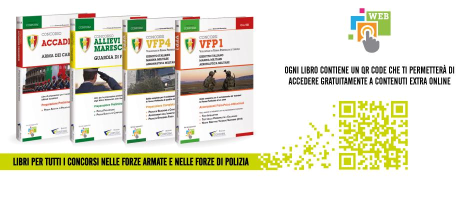 Conform - Contenuti extra Libri Preparazione Concorsi Militari