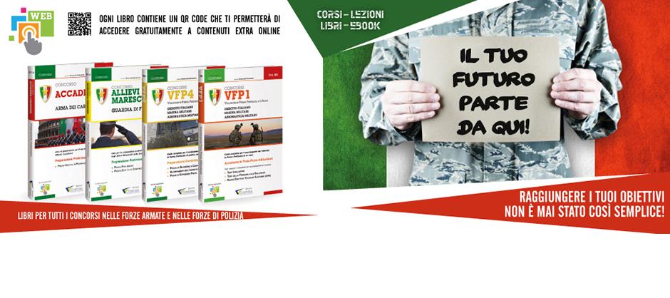 Libri Preparazione Concorsi Militari