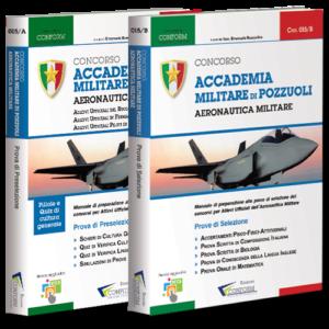 Libri Concorso Allievi Ufficiali Accademia Aeronautica