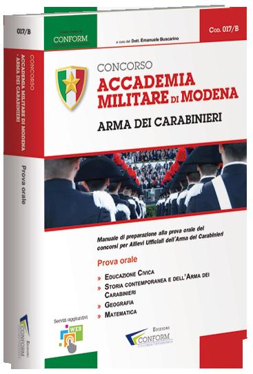 Nuovo Libro Prova Orale Concorso Accademia Carabinieri 2017