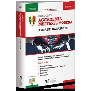 Ebook Concorso Accademia Militare di Modena - Arma dei Carabinieri - Prova Orale